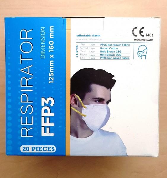 FFP3 Atemschutzmaske Respirator