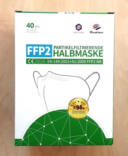 FFP2 Partikelfiltrierende Halbmaske