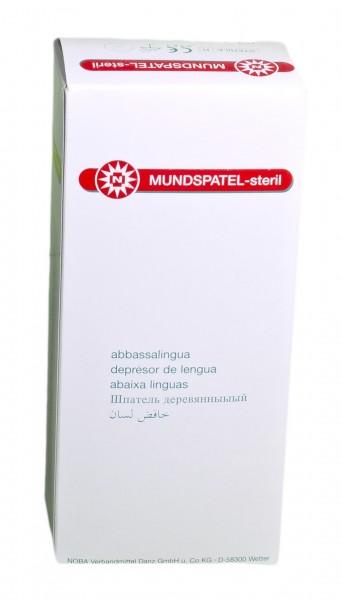 Holzmundspatel steril