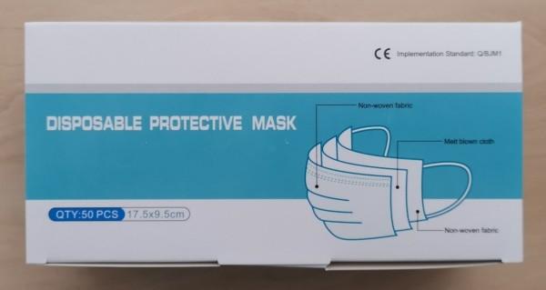 Mund- / Nasenschutz- Masken 50 Stück