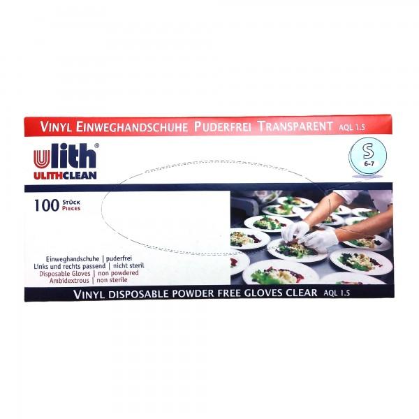 Ulith Vinyl-Handschuhe Größe S 100 Stück