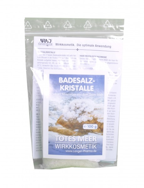 Totes Meer Badesalzkristalle, 100 g