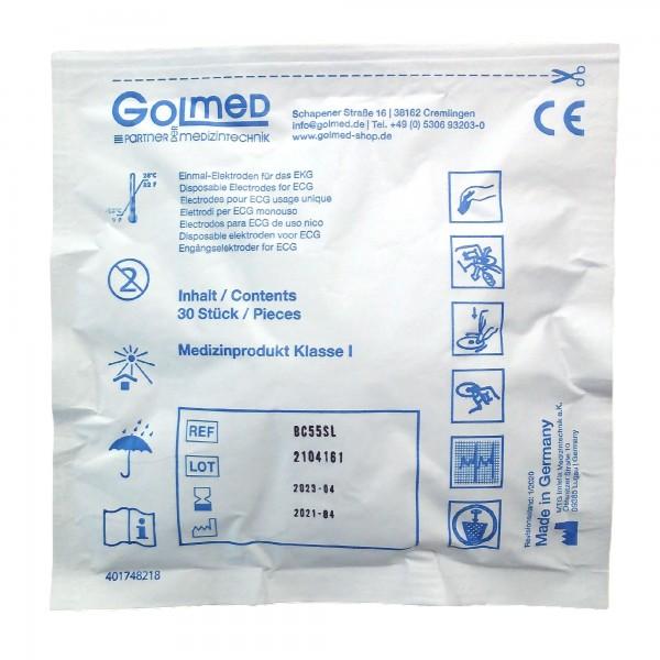 GOLmed EKG-Einmalelektroden BC55SL