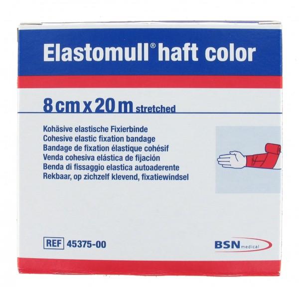 Elastomull haft rot 8 cm x 20 m