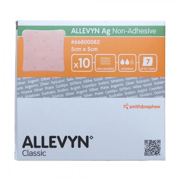 Allevyn Ag Non-Adhesive 5x5 cm, 10 Stück