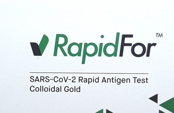 Corona Spucktest - Antigen-Schnelltest RapidFor - 1 Stück