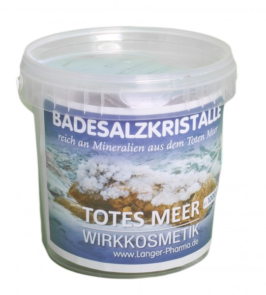 Totes Meer Badesalzkristalle, 1 kg