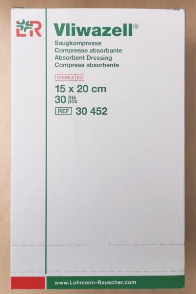 Vliwazell Saugkompressen 20 x 20 cm