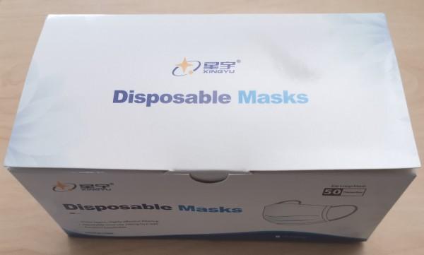 Einweg-Masken, 50 Stück