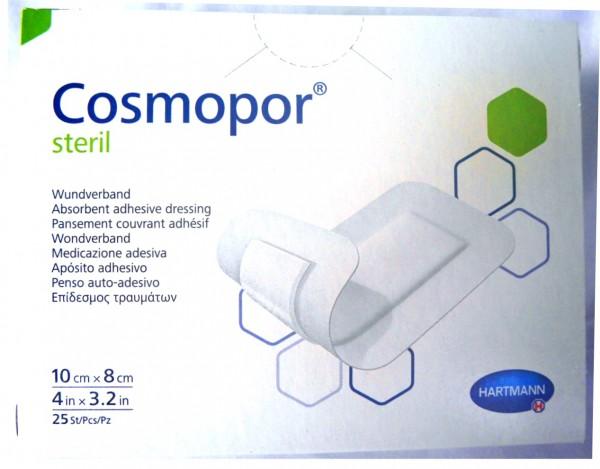 Cosmopor Steril 10 cm x 8 cm