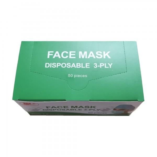 Mund- Nasen Masken, 50 Stück