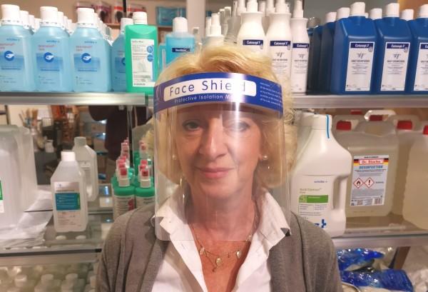 Face Shield Gesichtsschutzhaube