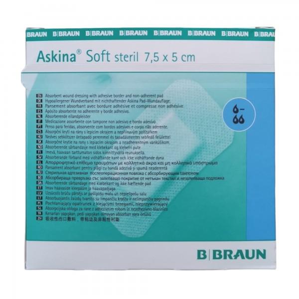 Askina Soft steril 7,5 x 5 cm, 50 Stück
